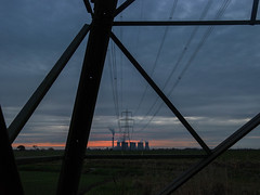 Power Source (zena_suleman97) Tags: eggbrough eggborough power station selby cooling towers electricity powerful chimney smoke steam clouds tree sunset long exposure evening orange sky field farm track barn pylon night photography dark late powerstation lights landscape industrial industry cloudss road path fields concrete modern coal leeds west yorkshire north outdoor skyline industrie kulturindustrial heritage