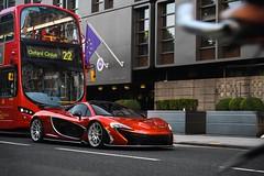 London (SirMatvey) Tags: wopp1 bike redbus londonbus bus england london chrome luxury gold money power carspotting car volcano volcanoorange mclarenp1 p1 mclaren