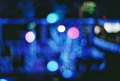 bokeh (Shoji Kawabata. a.k.a. strange_ojisan) Tags: nikon fm2 lomography x zenit new petzval lens film filmphoto filmphotography bokeh blue night nightphotography nightphoto japan analog analogphoto analogphotography analogcamera lights light city scapes cityscapes