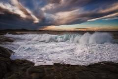 (Frank S. Schwabe) Tags: klubba kristiansund nordmøre norge norway nature ocean eos coast rocks sea shore clouds cloudy coastal canon ef24mmf28isusm storm foam