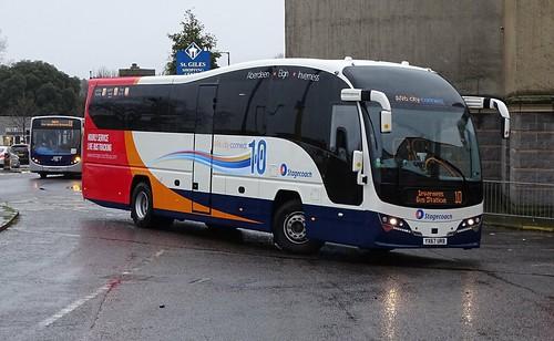 Stagecoach Bluebird 54826 YX67 URB