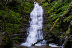 Falling Water (Jim Hughes Photography) Tags: water waterfall river rocks green forrest forest nature landscape trees rain gravity beauty beautiful views