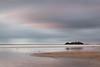 Muted Sunset over Godrevy Lighthouse (Andrew Hocking Photography) Tags: godrevy lighthouse cornwall kernow landscape seascape simple muted bleak uk water sea ocean coast england longexposure minimalist