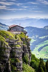 Ebenalp (albisserl) Tags: wasserauen switzerland meadow appenzellinnerrhoden forest alpinehut ebenalp mountain schweiz che