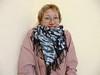 Warm rayon scarf (arireven) Tags: shibori scarf shawl blue whisperofsilk bluewhite online shop buy