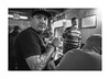 Habitue (Jan Dobrovsky) Tags: band leicaq pub brewery monochrome people reallife blackandwhite document tatoo social krumlov indoor nazi bohemia habitue neonazi