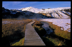 Landmannalaugar hot springs (shereentaheri) Tags: f80 nikon fujifilm slidefilm velvia velvia50 iceland highlands hotsprings n80