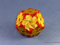 05.12 Dodecahedron Day :) (irina_chisa) Tags: origami kusudama