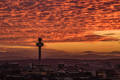 Liverpool Sunset (ianbonnell) Tags: liverpool sunset merseyside orangesky