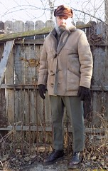 12-6-2017 Today's Clothes (Michael A2012) Tags: this mans winter style fashion vintage peterson stockholm handmade fur cap canterbury leather shearling lamb coat jacket jackyoung army surplus fulled wool andesgifts drmartens