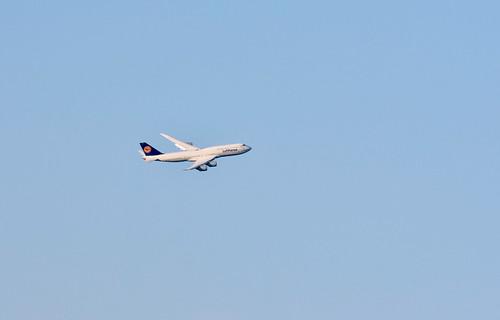Lufthansa D-ABYO, Boeing 747-830 at HND