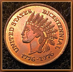 Proof Bicentennial Token 1976 (inferno55) Tags: penny token 1976 proof
