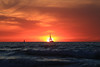 Sailing at sunset today - Tel-Aviv beach (Lior. L) Tags: sailingatsunsettodaytelavivbeach sailing sunset today telaviv beach silhouettes sailboats sea sky telavivbeach israel