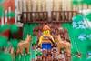 Old West Farm - detail 02 (cyndi.bourne) Tags: lego farm calgarystampede oldwest landscaping trees flowers barn