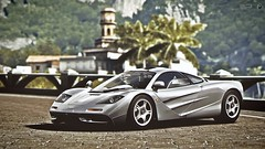 Tropico (WCP edit) (polyneutron) Tags: auto mclaren f1 classic supercar italy forza motorsport pc digital flickr photoshop dof wcp