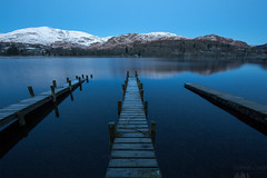 The Blue Hour (Sophie Carr Photography) Tags: bluehour lakedistrict cumbria piers conistonwater coniston southlakes dawn perspective oldmanofconiston winter morning