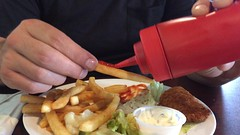 America! (RadioTripPictures) Tags: america usa unitedstates frenchfries ketchup food fry funny
