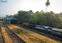 Waiting to Roll down (mohammedali47) Tags: braganzaghats gootyalco ghats morning indianrailways amravatiexpress kulem twins railroad nature