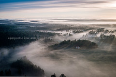 Säffle_170615-3124.jpg (perpixel.se) Tags: säffle hög flygfoto dimma 3 hus värmland sverige swe