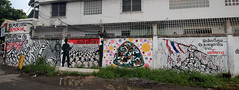17 May 1992 Memorial graffiti (_gem_) Tags: travel bangkok thailand asia southeastasia khaosan khaosanroad graffiti streetart architecture building design city street urban