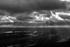 Sun rays on Twin Lakes (Richard-) Tags: appalachiantrail fujix100f highcontrast mtrace hiking sunrays