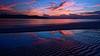 "Sky in the sand (jay_kilifi) Tags: sun ripple sand beach sky clouds glow luminous sea ocean indian kilifi creek blue rays beams kenya sunrise long exposure deep purple violet light sunlight water reflection dramatic nikon d100 18mm f4 ""1224mm"" safe"