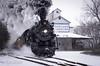 Snowball highball. (Scott Shields Photo) Tags: pere marquette sri steam railroading institute owosso michigan mi railroad locomotive berkshire lima snow carland 2017