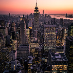 Manhattan at sunset - New York - Cityscape photography thumbnail