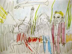 Vivarium (giveawayboy) Tags: pencil crayon drawing sketch art fch tampa artist giveawayboy billrogers dream