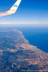 DSCF3645 (Klaas / KJGuch.com) Tags: trip travel traveling flight flying klm airborne inflight outandabout xpro2 fujifilm fujifilmxpro2 coast coastline mar elmar