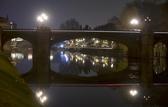 Skeldergate Bridge, York (Ian Mc Farlane) Tags: skeldergatebridge york nightscape cityscape bridge