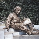 Washington DC ~ Albert Einstein Memorial -  National Academy of Science thumbnail