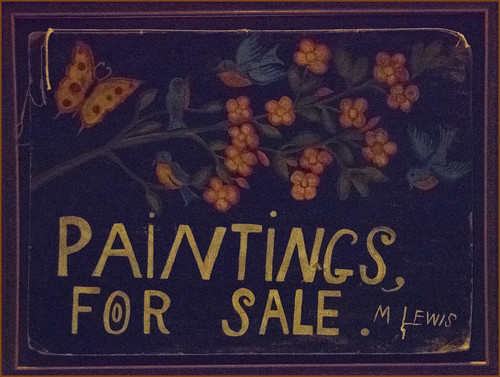 'Paintings for Sale' by Maud Lewis (c. 1960s) -- Art Gallery of Nova Scotia Halifax (NS) September 2017 DSC_3091