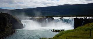 Goðafoss/Godafoss waterfall