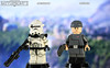 Custom LEGO Star Wars Battlefront II: Specialist and Officer Clone Troopers (LegoMatic9) Tags: custom lego star wars battlefront ii 2 specialist officer clone troopers