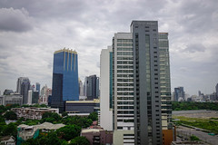 Cityscape of Bangkok, Thailand (phuong.sg@gmail.com) Tags: apartment architecture asia asian bangkok beautiful blue building business busy capital city cityscape condo condominium construction corporate day downtown finance high infrastructure landscape metropolis modern new office shadow sky skyline skyscraper space sunny sunset tall thai thailand tourism tower town traffic travel urban urbanscape view