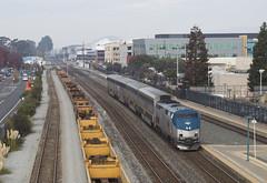535 - Emeryville (imartin92) Tags: emeryville california amtrak passenger train capitolcorridor railroad ge generalelectric p42dc genesis locomotive