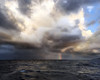 caribbean squall 2 (janemetcalfe13) Tags: seascape clouds storm squall rainbow landscape weather