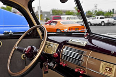 1940 Ford Deluxe Coupe Dash - Standard layout (Pat Durkin OC) Tags: donutderelicts 1940ford deluxe dashboard