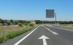 A-23-58 (European Roads) Tags: a23 huesca zuera zaragoza españa aragón spain autovía