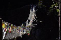 Sagarmatha National Park, Nepal (milia imagines) Tags: himalaya trekking a6500 sony tibet walk hiking bridge nepal