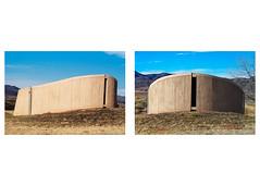 Building 16 - Colorful Concrete (ddurham000) Tags: building concrete concretestructure chatfieldreservoir colorado chatfieldstatepark