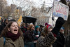 Tax Bill Protesters Marching past New York's City Hall (Patja) Tags: goptax scam protest tax bill senate demonstration march foley square wall street
