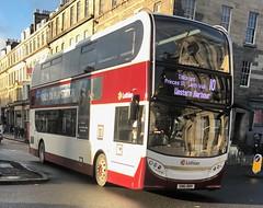 Lothian Buses 210 SN61 BBV (04.12.2017) (CYule Buses) Tags: service10 enviro400 alexanderdennis alexanderdennisenviro400 transportforedinburgh lothianbuses sn61bbv 210