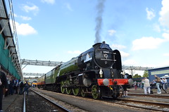 60163 Tornado (Will Swain) Tags: seen old oak common depot open day 2nd september 2017 greater london capital city south east train trains rail railway railways transport travel uk britain vehicle vehicles country england english 60163 tornado steam