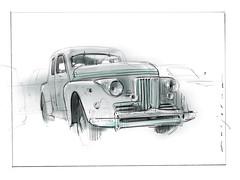 Murad s (Stefan Marjoram) Tags: sketch drawing ipad pro procreate apple pencil car vintage racing plein air