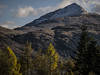 Ben Lomond and Trees - Nov 2017 (GOR44Photographic@Gmail.com) Tags: benlomond ben lomond loch trees autumn snow peak munro inveruglas scotland argyll gor44 cloud shadows panasonic g2 45150mmf456 thetrossachs sunlight