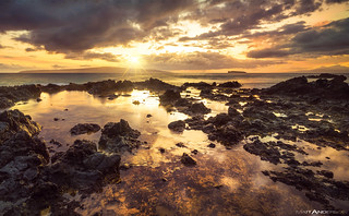 Sunset Over Makena Cove #1