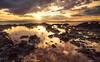 Sunset Over Makena Cove #1 (Matt Anderson Photography) Tags: sunset sunrise coast tidalpool makena maui cove kahooalawe island hawaii pacific ocean dramatic landscape mattanderson sunstar sunbeams godrayscloudscape vacation reflection waterscape