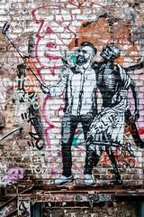 Selfie mit dem Tod (DOKTOR WAUMIAU) Tags: ishootraw berlin fhain friedrichshain fuji fujifilm fujilove fujix fujixt20 lightroom partyhard rawgelände street streetart streetphotography universalart xf35mmf2 xt20 500px